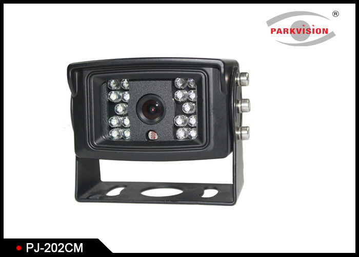 18 Led Lights DC 24V Truck Rear View Camera With NTSC Or PAL Signal System