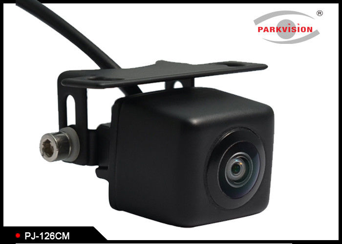 Mini Square Design Rearview Car Camera System Black For Car Parking System