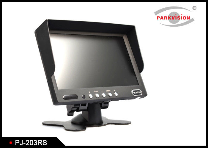 120 Degree Bus Monitoring System , Rear View Mirror Monitor With Backup Camera